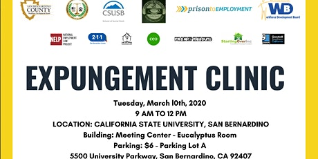 Expungement Clinic tickets