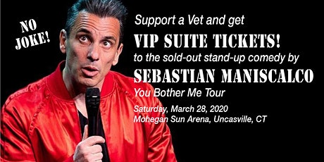 Sebastian  Maniscalco - Laugh &  Support a Veteran! tickets