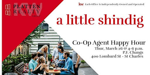 Platten Realty Group Co-Op Agent Happy Hour