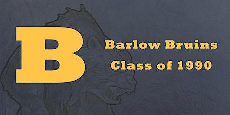 Sam Barlow Class of 1990, 30 year reunion tickets