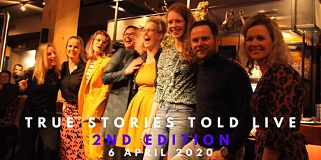 True Stories Told Live - 2nd Edition - Achterhoek tickets