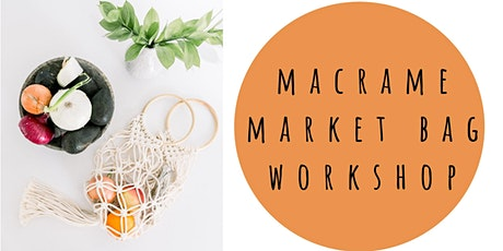Macrame Market Bag Workshop + Mimosas at Barrels and Branches tickets
