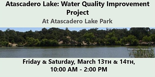 Atascadero Lake: Water Quality Improvement Project