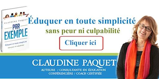 Lancement du livre de Claudine Paquet