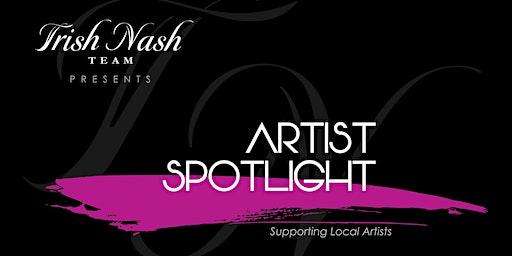 Artist Spotlight featuring  Local Artist Jerry Blank