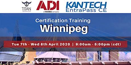 Winnipeg Kantech CE Certification - ADI tickets