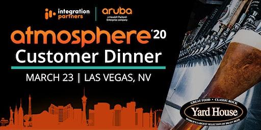 Aruba Atmosphere'20: Customer Dinner | Las Vegas, NV