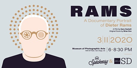 RAMS | A Documentary Portrait of Dieter Rams tickets