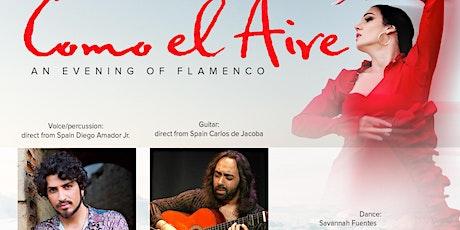 Como el Aire, an evening of Flamenco San Diego tickets