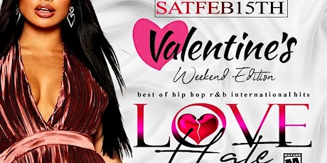 Belvedere Saturdays: Love/Hate | A Sexy Mature Diverse Party 30 & Up tickets
