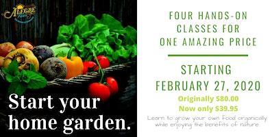 Preparing your home garden
