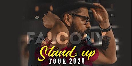 Gustavo Falcón Stand Up Tour 2020 boletos