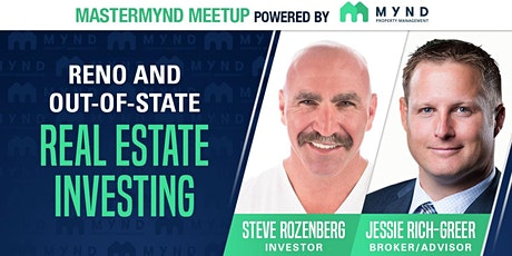 MasterMynd Meetup - Investing in Reno and Out-of-State Real Estate tickets