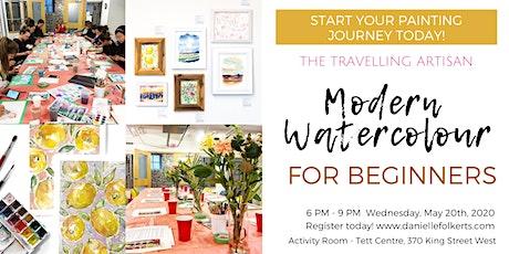 Modern Watercolour for Beginners tickets