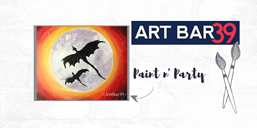 Paint & Sip | ART BAR 39 | Public Event | Dragon Moon