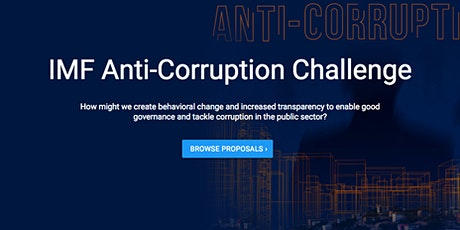 Open Contracting Community Call: IMF Anti-Corruption Challenge tickets