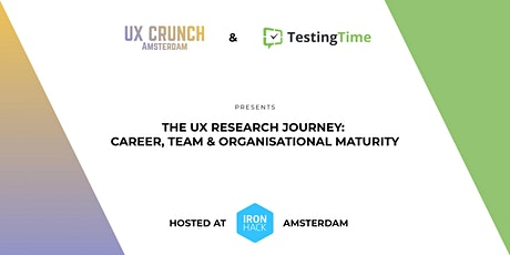 The UX Research Journey: Career, Team & Organisational Maturity tickets