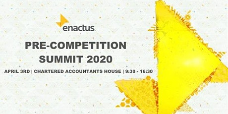 Pre-Competition Summit 2020 tickets