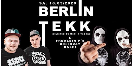 Berlin Tekk w/ Die Gebrüder Brett, Kopf & Hörer, Leigh Johnson