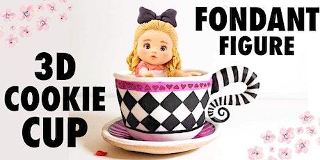 Sugar Art Workshop - Figure Modeling & 3D Cookie Cup tickets