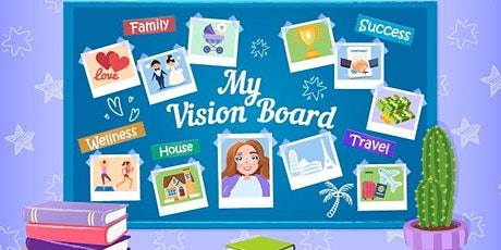 Create Your Dream Life Vision Board tickets