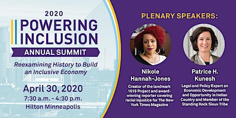 2020 POWERING INCLUSION SUMMIT: Reexamining History to Build an Inclusive Economy tickets