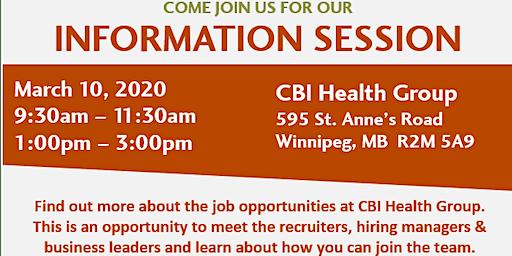 CBI Career Information Session