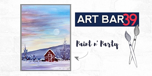 Paint & Sip | ART BAR 39 | Public Event | Country Morning