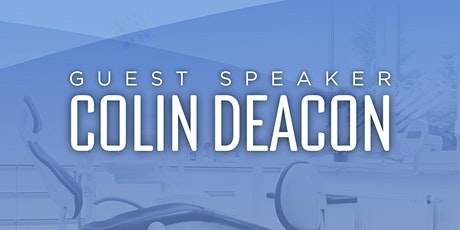 AgENT Guest Speaker: Senator Colin Deacon tickets