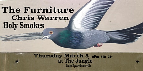 The Furniture, Chris Warren, Holy Smokes tickets