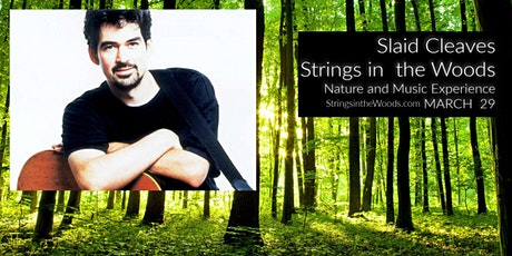 Slaid Cleaves at Strings in the Woods LIVE tickets
