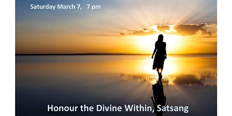 Honour the Divine Within, Satsang tickets