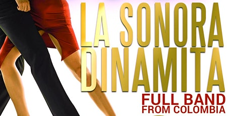 La Sonora Dinamita full band from Colombia. 2nd Year Anniversary. May 16 tickets