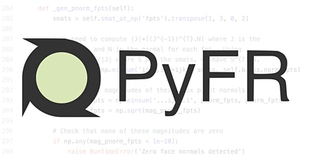 PyFR Symposium 2020 tickets
