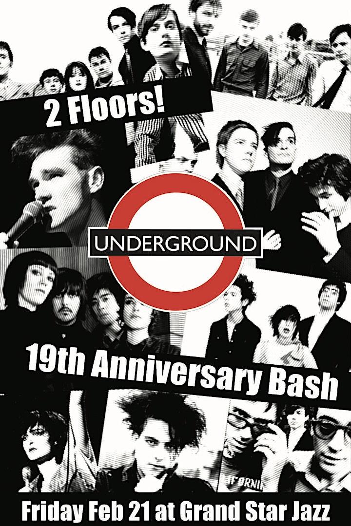Underground {19th Anniversary} Cruel World Giveaways! 2 Floors FRI Feb 21st image