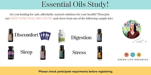 Essential Oil Pre-Study Kick Off Event - LIVE BoA