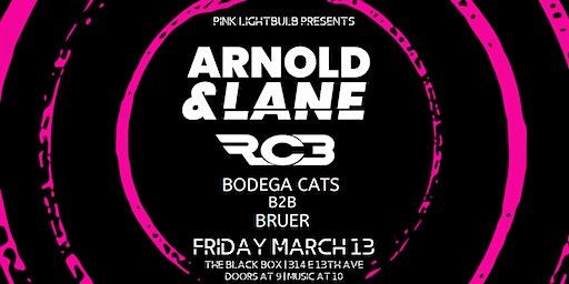 Pink Lightbulb presents: Arnold & Lane