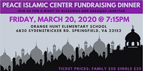 2020 Fundraising Dinner tickets