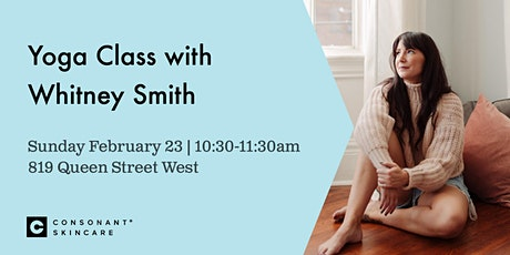 Yoga Class with Whitney Smith tickets