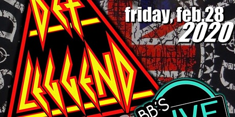 An Evening w/Def Leggend / The World's Greatest Def Leppard Tribute tickets
