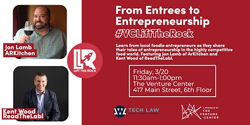 #VCLiftTheRock Presents | From Entrees to Entrepreneurship