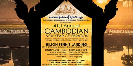 41st Annual Cambodian New Year Celebration tickets
