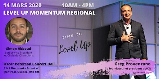 Level Up Momentum Regional