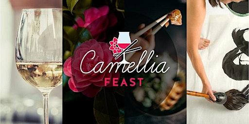 Camellia Feast Table for Eight