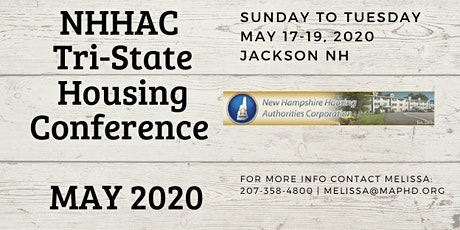 NHHAC 2020 Tri-State Housing Conference  tickets