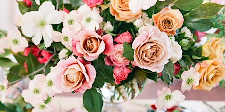 Flowers&Champagne workshop at Preto Loft - spring edition. tickets