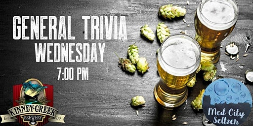General Trivia | Pizza, Craft Beer and Hard Seltzer!