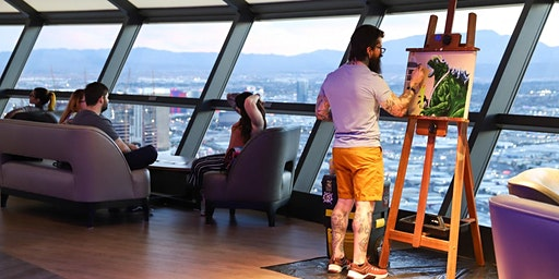 Vegas Made Live Art Auction: 20 artists on The 108th floor of The STRAT!