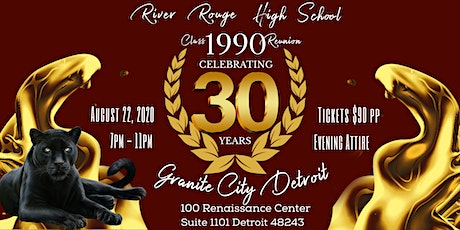 RRHS  CLASS OF 1990 30 YEAR REUNION tickets