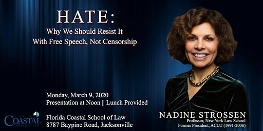 """""""HATE:  Should We Resist It with Free Speech, Not Censorship?"""""""